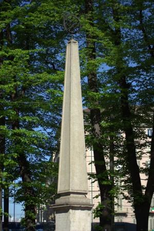 La Guglia Beccaria in Piazza Statuto. Fotografia di Giuseppe Caiafa, 2011.