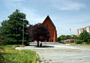 Chiesa del Gesù Redentore. Fotografia di Elena Piaia, 2017