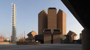 Chiesa del Santo Volto vista dal sagrato.©Universtià degli Studi di Torino.