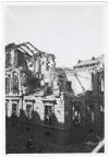 Via Pastrengo angolo Via Vincenzo Gioberti (Scuola Elementare Rignon?), crollo di edifici. UPA 4710_9F01-17. © Archivio Storico della Città di Torino//Archivio Storico Vigili del Fuoco
