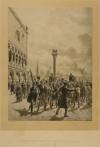 Niccolò Tommaseo e Daniele Manin liberati dal carcere il 17 marzo 1848, da un dipinto di Matania, 1887. © Museo Nazionale del Risorgimento Italiano di Torino.