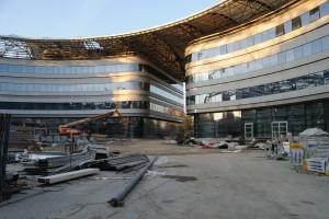 Nuovi edifici per l'Università, cantiere ex area Italgas, 2011. © Università degli studi di Torino - Divisione Edilizia e Grandi Infrastrutture