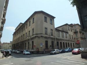 Facoltà di Economia e Commercio. Via della Cittadella, piazza Arbarello, via Bertrandi. Fotografia di Paola Boccalatte, 2013. © MuseoTorino