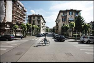 Veduta del 14° quartiere IACP su corso Racconigi. Fotografia di Michele D'Ottavio, 2011. © MuseoTorino