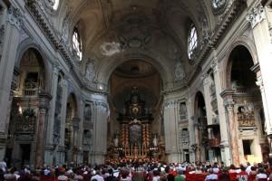 Interno della Chiesa di San Filippo Neri. Fotografia di Gianluca Platania, 2011. © MITO SettembreMusica