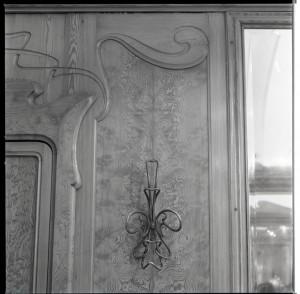 Stile Liberty, parrucchiere, appendiabiti, 1998 © Regione Piemonte