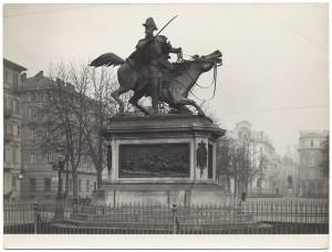 Alfonso Balzico, Monumento a Ferdinando di Savoia duca di Genova, 1877. Fotografia di Giancarlo Dall'Armi. © Archivio Storico della Città di Torino