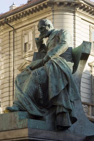 Monumento a Giuseppe Mazzini. Fotografia di Giuseppe Caiafa, 2011.
