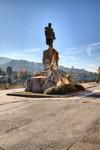 Odoardo Tabacchi, Monumento a Giuseppe Garibaldi (veduta), 1887. Fotografia di Mattia Boero, 2010. © MuseoTorino.