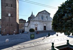 Meo del Caprina, Cattedrale di San Giovanni Battista (Duomo, scorcio), 1491-1498. Fotografia di Mattia Boero, 2010. © MuseoTorino.