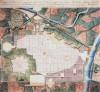 Piano urbanistico del 1817, con l'indicazione della piazza d'armi di San Secondo a ovest dell'area poi occupata dalla stazione di Porta Nuova.ASCT, Tipi e disegni.© Archivio Storico della Città di Torino