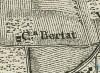 Cascina Anselmetti. Carta topografica dimostrativa dei contorni della Città di Torino, 1785. © Archivio Storico della Città di Torino