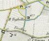 Cascina Teghillo. Antonio Rabbini, Topografia della Città e Territorio di Torino, 1840. © Archivio Storico della Città di Torino