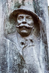 Edoardo Rubino, Statua di Casimiro Teja (particolare), 1903. Fotografia di Mattia Boero, 2010. © MuseoTorino.