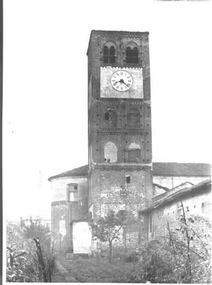 Campanile dell'Abbadia di Stura. Fondazione Torino Musei, Archivio Fotografico. © Fondazione Torino Musei