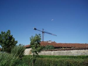 Casa padronale della cascina Tetti Basse di Dora. Fotografia di Emanuela Lavezzo, 2008