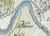 Cascina Mineur. Topografia della Città e Territorio di Torino, 1840. © Archivio Storico della Città di Torino