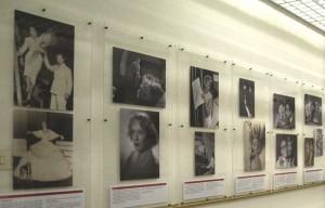 Un pannello della mostra ''Torino e le donne'' - Sezione: Le Stelle di Macario