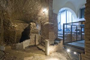 Piazza San Giovanni, la basilica paleocristiana di Santa Maria
