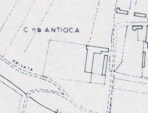 Cascina Antiochia. Istituto Geografico Militare, Pianta di Torino, 1974. © Archivio Storico della Città di Torino