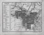 Pianta topografica della città di Torino, 1890 circa