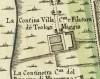Cascina Continassa. Istituto Geografico Militare, Pianta di Torino, 1974. © Archivio Storico della Città di Torino