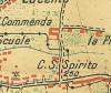 Cascina Commenda.Istituto Geografico Militare, Pianta di Torino e dintorni, 1911. © Archivio Storico della Città di Torino