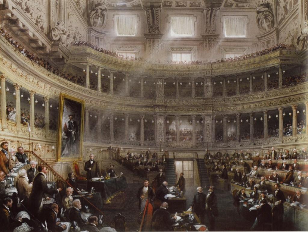 Aula del senato di palazzo madama museotorino for Suo e suo armadio