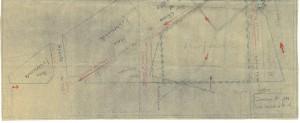 Bombardamenti aerei. Censimento edifici danneggiati o distrutti. ASCT Fondo danni di guerra inv. 1881 cart. 39 fasc. 14 seconda parte. © Archivio Storico della Città di Torino