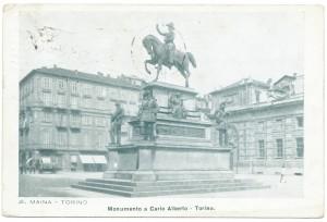 Carlo Marocchetti, Monumento a Carlo Alberto, 1856-1860. © Archivio Storico della Città di Torino