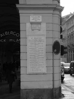 Dopo la Liberazione alcuni luoghi della città cambiano nome