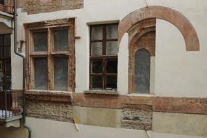 Casa Romagnano (particolare, 1). Fotografia di Paolo Gonella, 2010. © MuseoTorino.