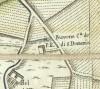 Cascina Bussone. Giovanni Lorenzo Amedeo Grossi, Carta Corografica dimostrativa del territorio della Città di Torino, 1791, © Archivio Storico della Città di Torino.