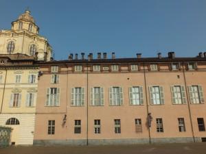 Palazzo Chiablese da piazzetta Reale. Fotografia di Paola Boccalatte, 2013. © MuseoTorino