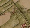 Cascina Borsello. Carta Topografica della Caccia, 1760-1766 circa, ©Archivio di Stato di Torino