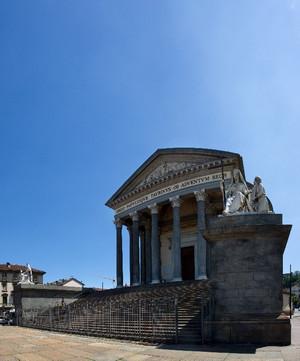 Chiesa della Gran Madre di Dio (veduta laterale). Fotografia di Mattia Boero, 2010. © MuseoTorino.