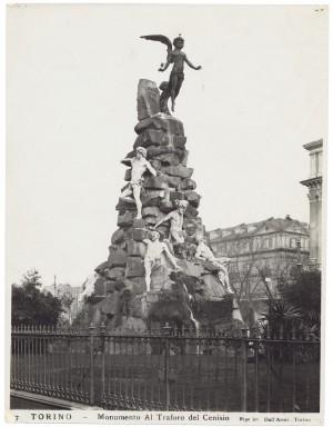 Luigi Belli, Monumento al trasforo del Frejus, 1879. Fotografia di Giancarlo Dall'Armi © Archivio storico della Città di Torino