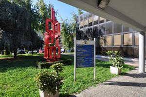 La sede della Circoscrizione 7 (particolare). Fotografia di Mauro Raffini, 2010. © MuseoTorino.