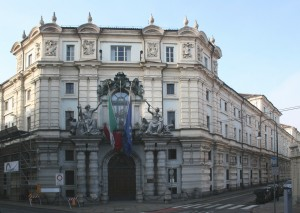 L'ingresso monumentale completato nel 1890. Fotografia di Enrico Lusso per MuseoTorino.