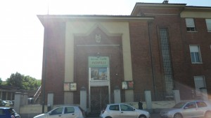 Facciata principale e ingresso del Cinema Teatro Agnelli. Fotografia di Dario Rosso, 2011. © MuseoTorino