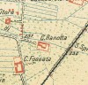 Cascina Ranotta. Antonio Rabbini, Topografia della Città e Territorio di Torino, 1840. © Archivio Storico della Città di Torino