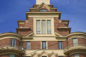 Torri Rivella, edificio Ovest. Fotografia di Bruna Biamino, 2010. © MuseoTorino