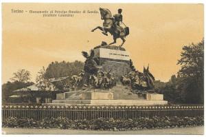 Davide Calandra, Monumento ad Amedeo di Savoia, 1902. © Archivio Storico della Città di Torino