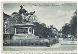 Alfonso Balzico, Monumento a Ferdinando di Savoia duca di Genova, 1877. © Archivio Storico della Città di Torino