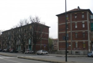 Quartiere SB1, corso Cincinnato, vie Pirano e Parenzo, Strada Comunale di Altessano