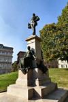 Casimiro Debiaggi, Giacomo Ginotti, Monumento a Carlo Nicolis di Robilant (veduta laterale, 1), 1900. Fotografia di Mattia Boero, 2010. © MuseoTorino.