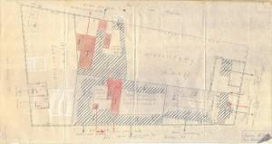 Bombardamenti aerei. Censimento edifici danneggiati o distrutti. ASCT Fondo danni di guerra inv. 2177 cart. 44 fasc. 17. © Archivio Storico della Città di Torino