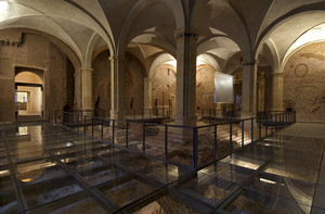Palazzo Madama, Corte Medievale. Fotografia di I&W Atelier, 2008. © Fondazione Torino Musei
