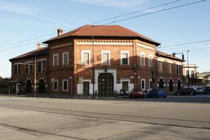 Palazzina uffici dell'ex Lanificio Piacenza. Fotografia di Giuseppe Beraudo, 2009