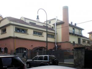Bagni pubblici e centro d'incontro di Borgo San Paolo. Fotografia di Francesca Talamini, 2015